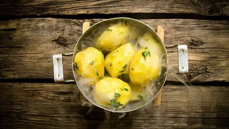 Potatoes are out of favour – but they have strong roots in a healthy lifestyle