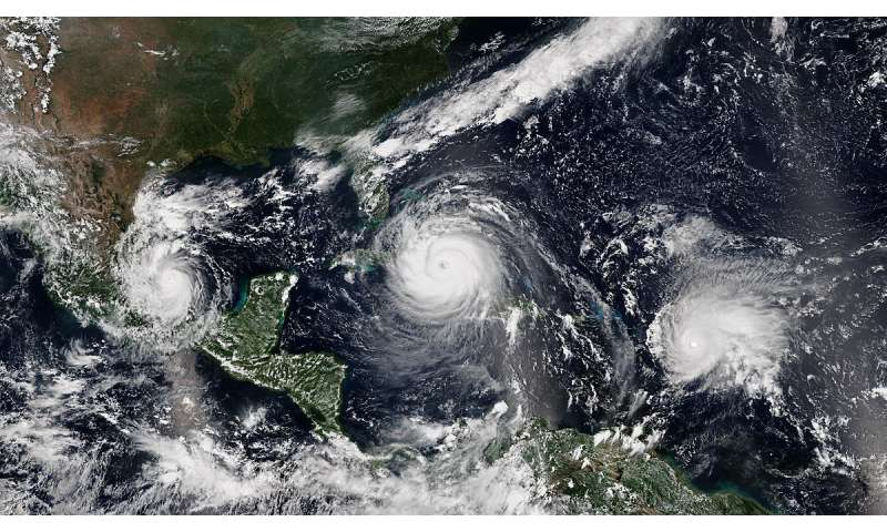 Powerful hurricanes strengthen faster now than 30 years ago