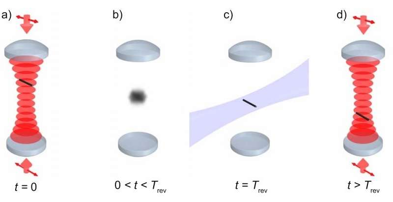 Proposed test of quantum superposition measures 'quantum revivals'