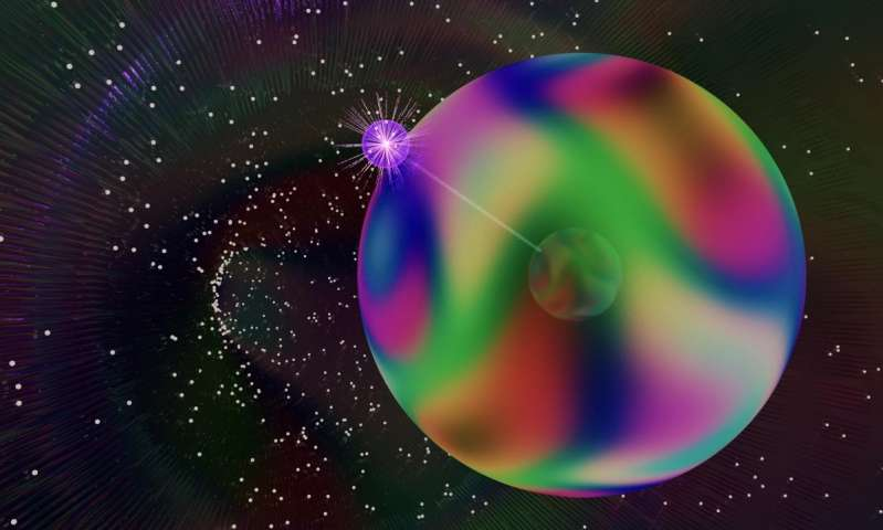 Quantum gas reveals first signs of path-bending monopole
