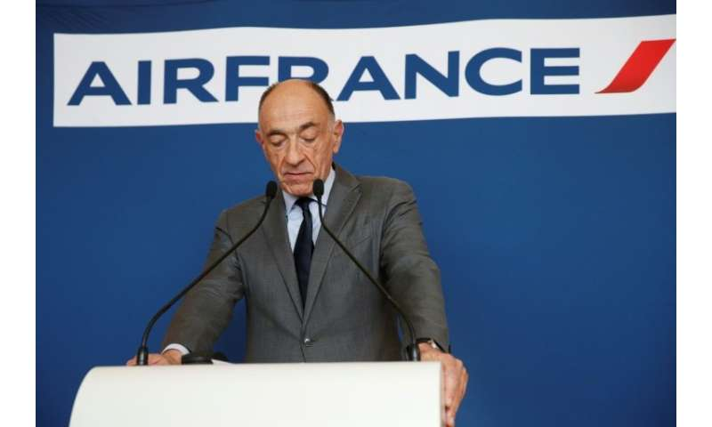 """I accept the consequences of this vote and will tender my resignation to the boards of Air France and Air France-KLM in co"