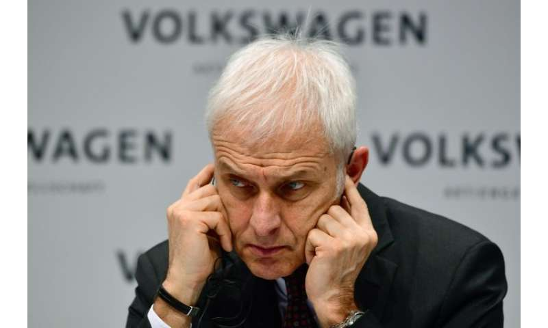 """I am convinced that diesel is experiencing a renaissance,"" Matthias Mueller said"