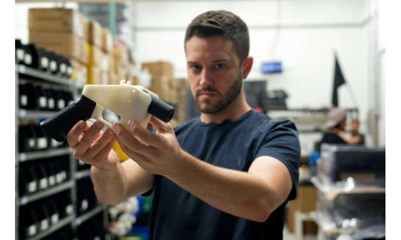 US 'crypto-anarchist' sees 3D-printed guns as fundamental right