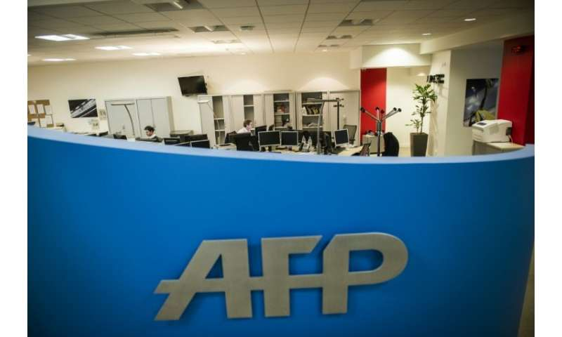 """We are delighted with this new (fact-checking) contract (with Facebook), which is testament to AFP's expertise and credibi"