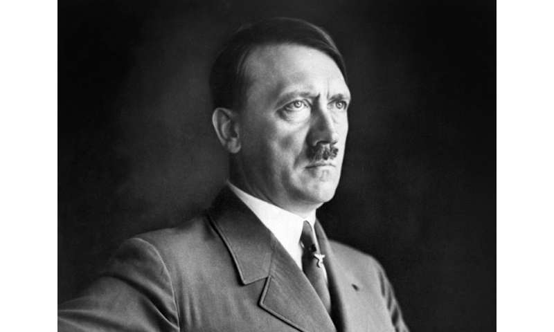 """We can stop all the conspiracy theories about Hitler. He did not flee to Argentina in a submarine, he is not in a hidden b"