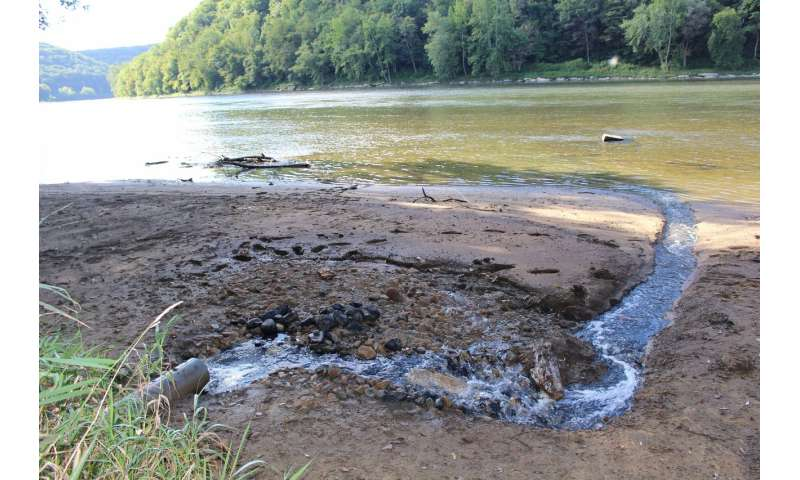 Radioactivity from oil and gas wastewater persists in Pennsylvania stream sediments