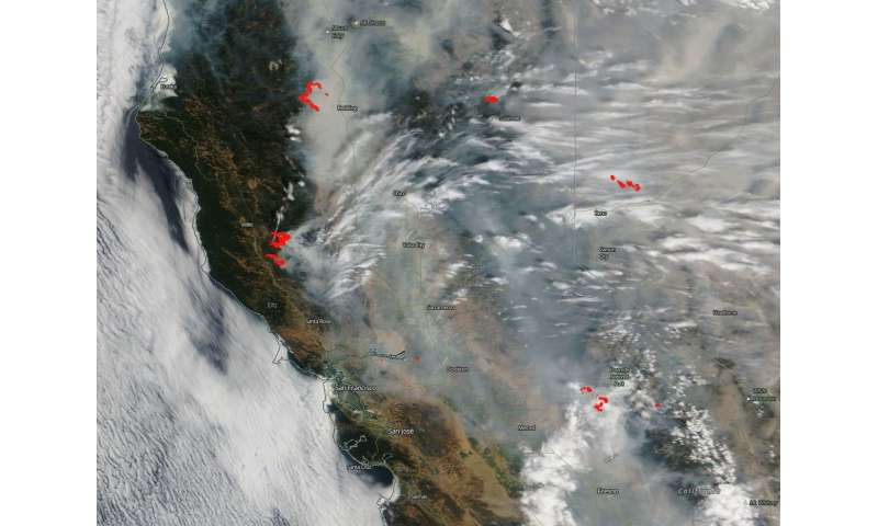 Raging fires in California creating havoc for the state