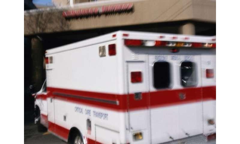 Rate of pediatric emergencies in ambulatory practices identified