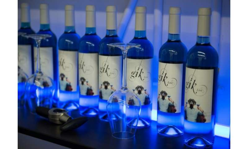 """Reaction to the blue wine has been mixed: """"Not bad"""" was the verdict of the former head sommelier at the Paris Ritz, wh"""