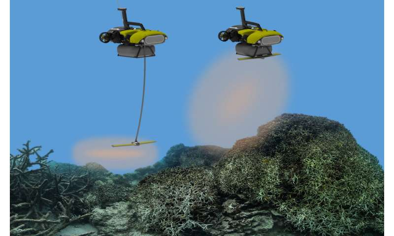 Reef RangerBot becomes 'LarvalBot' to spread coral babies