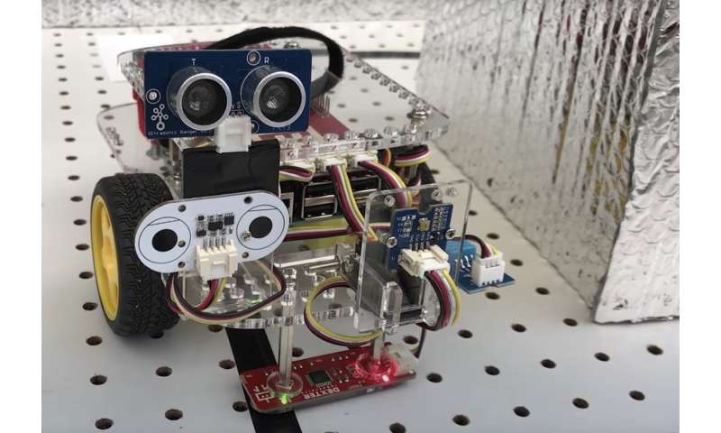 Robot designed to defend factories against cyberthreats