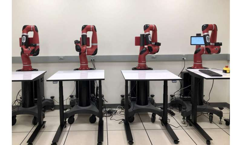 Robots learn tasks from people