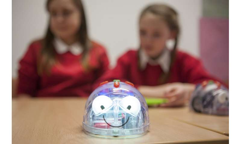 Robots will never replace teachers but can boost children's education