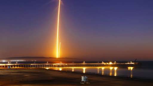Rocket carrying Argentinian satellite takes off successfully