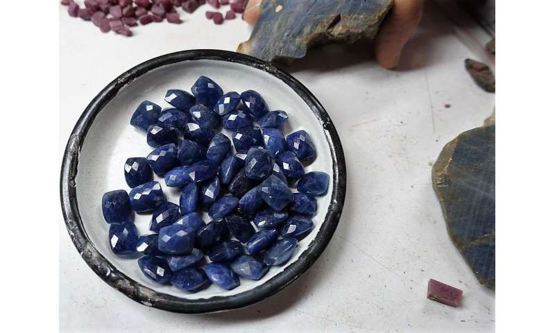 Sapphire secrets—they aren't all blue, and mining them