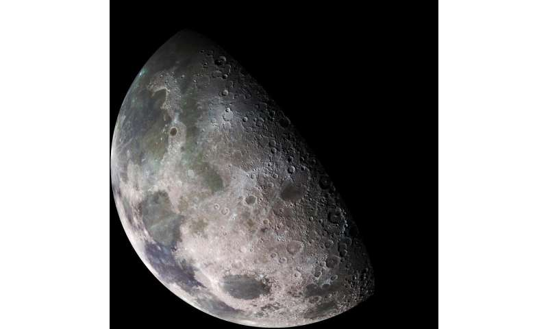 Scientists characterize water on lunar surface