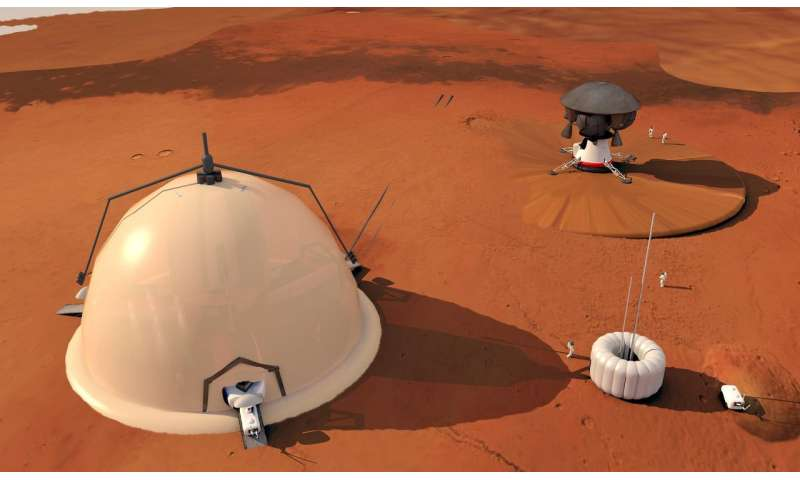 Scientists sketch out the foundations of a colony on Mars