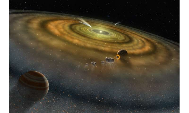 Scientists theorize new origin story for Earth's water