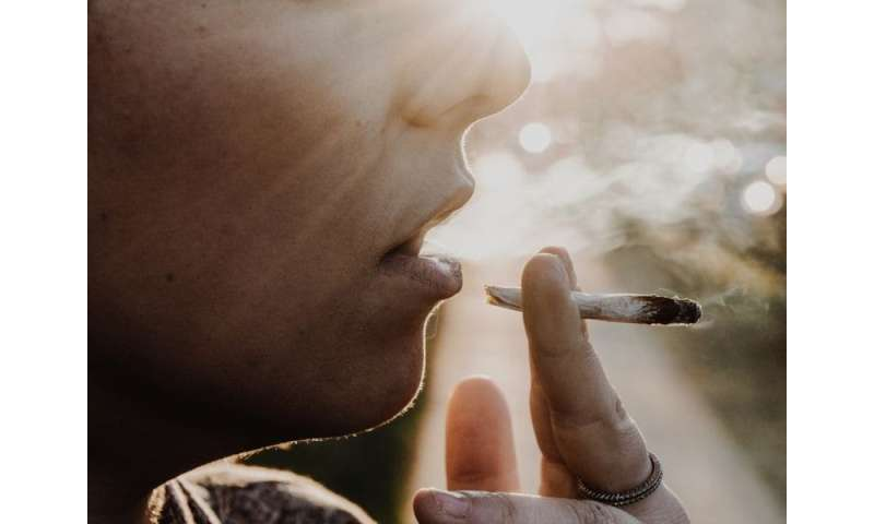 Secondhand pot smoke found in kids' lungs