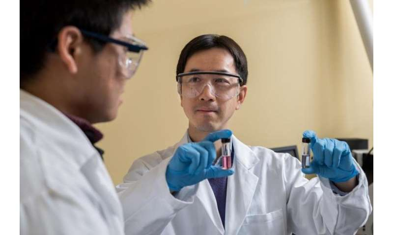 """Self-assembled """"Hairy"""" Nanoparticles Could Give a Double Punch to Cancer"""