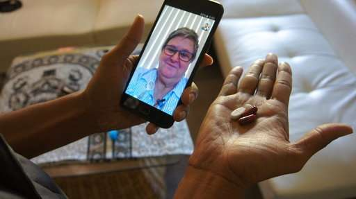 Selfie medicine: Phone apps push people to take their pills