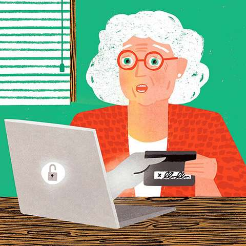Seniors want to know whom they can trust online