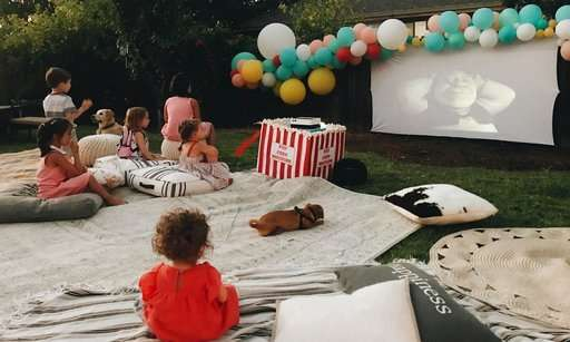 Setting up an outdoor TV or projector has gotten easier