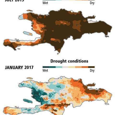 Severe Caribbean droughts may magnify food insecurity