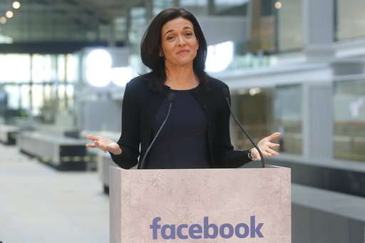 Sheryl Sandberg uses Facebook's woes as lesson for MIT grads
