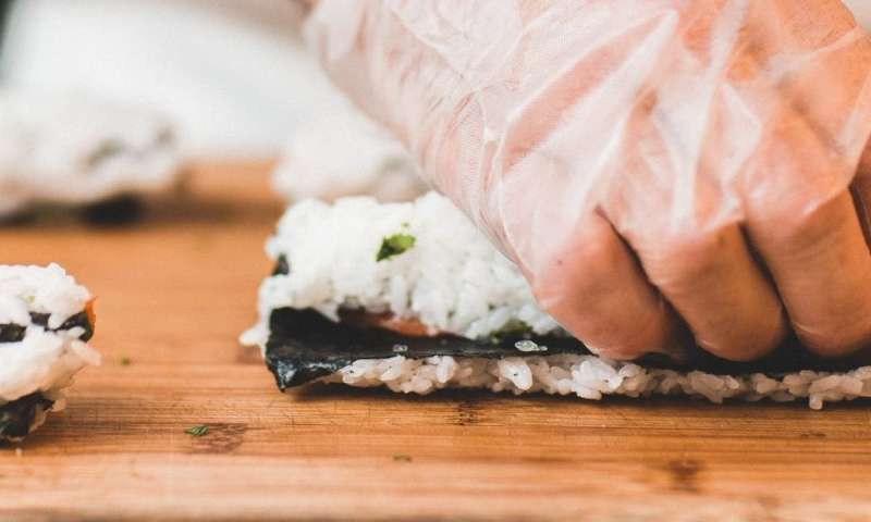 Should raw sushi eaters be worried about tapeworms?