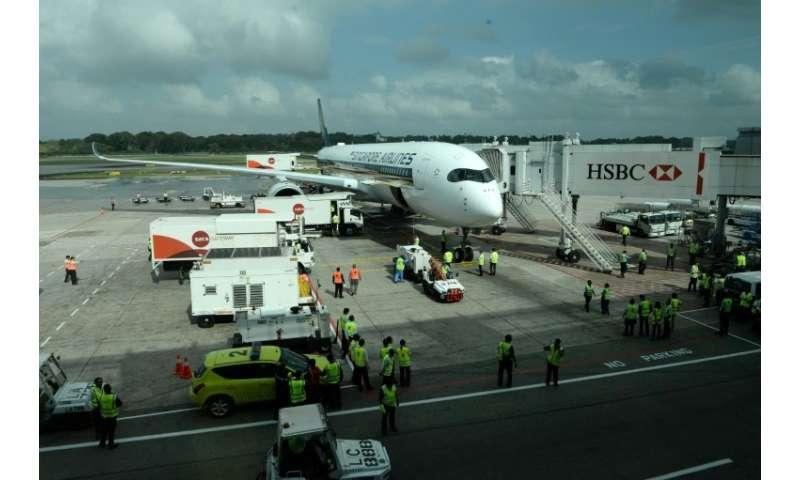 SIA menerima pesawat pertama pada bulan September