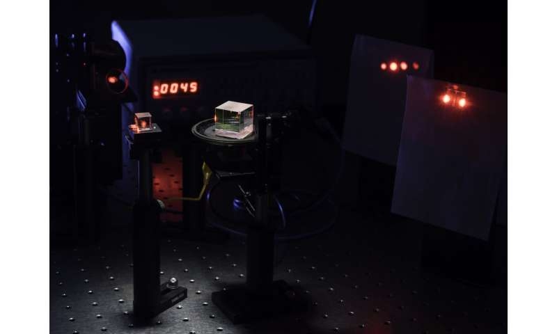 Simpler interferometer can fine tune even the quickest pulses of light
