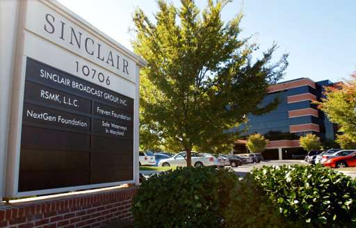 Sinclair to sell 7 TV stations to Fox to win regulatory OK