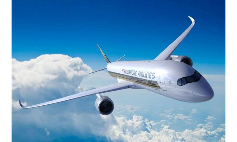 Singapore Airlines Flight SQ22 arrived in Newark after a flight of 17 hours and 52 minutes