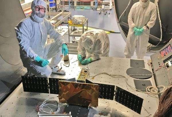 Small satellites tackle big scientific questions