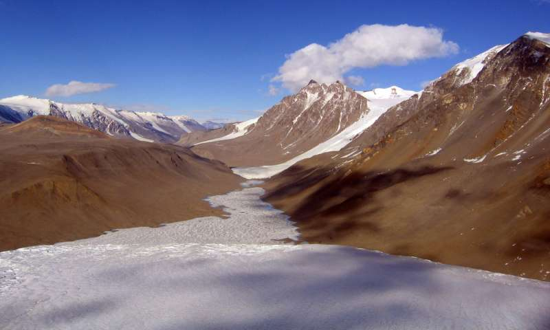 Soot transport contributes little to melting of some Antarctic glaciers