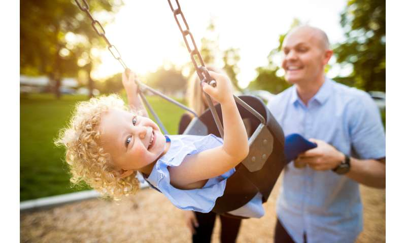 Study shows today's dads are engaging more with their kids