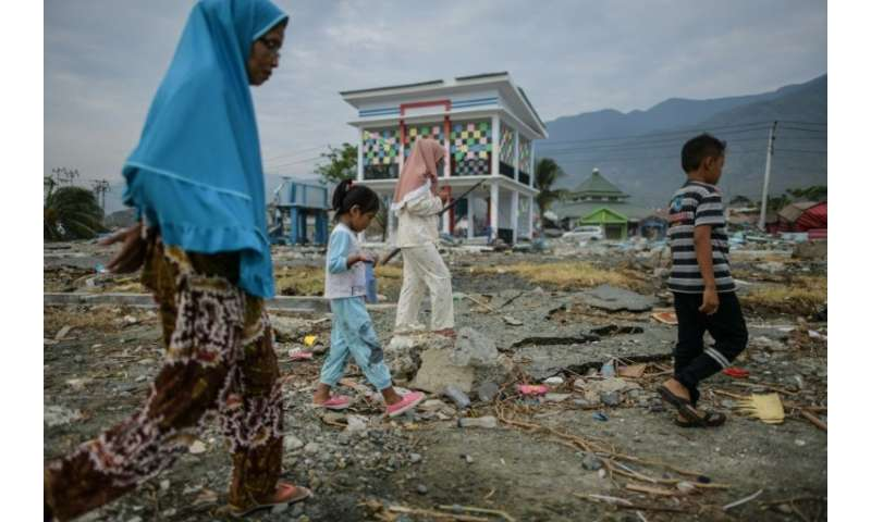 Sulawesi island is already reeling from last Friday's double tragedy that has killed over 1,400 people