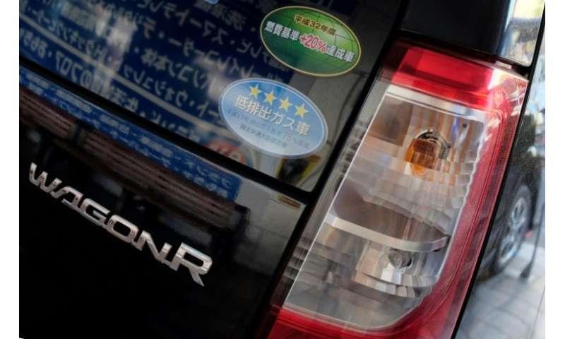 Suzuki's hybrid Wagon R compact car has proved enormously popular in Sri Lanka