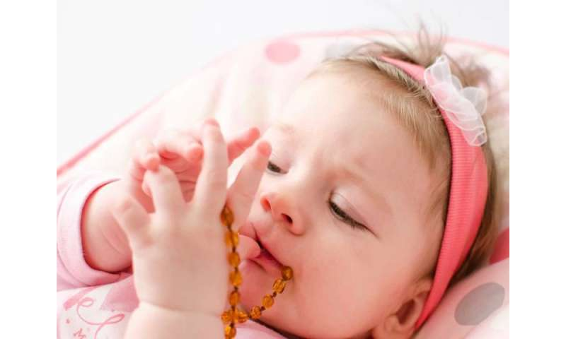 Teething jewelry linked to at least one baby's death: FDA