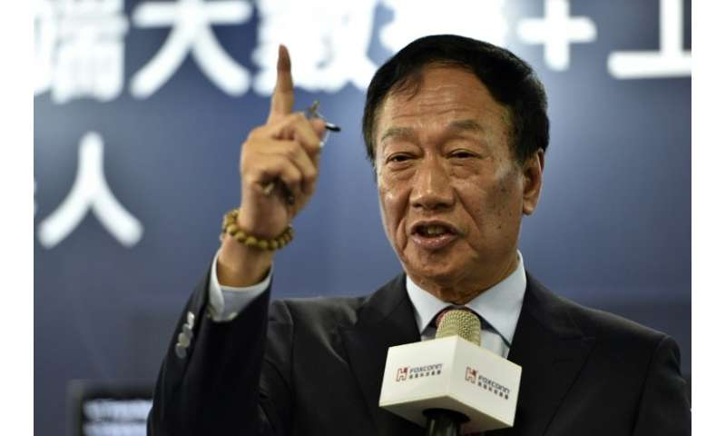 Terry Gou, chairman of Taiwan's Foxconn: his firm is again under fire for allegedly exploiting workers