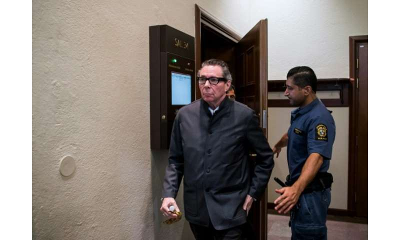 The allegations against Frenchman Jean-Claude Arnault, seen leaving court in Stockholm during Monday's final trial hearing, prom