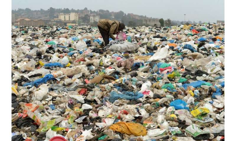 The authors of the new report say global action is needed to reduce plastic waste