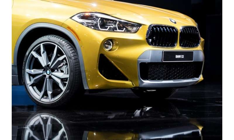 The BMW X2 is introduced during the 2018 North American International Auto Show in Detroit, Michigan, on January 15, 2018