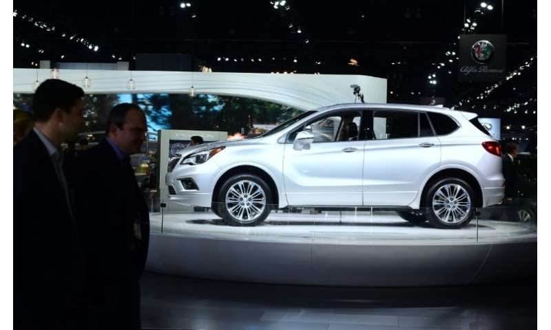 The Buick Envision SUV is manufactured in China but a small number are imported into the US market, and GM has asked that it be