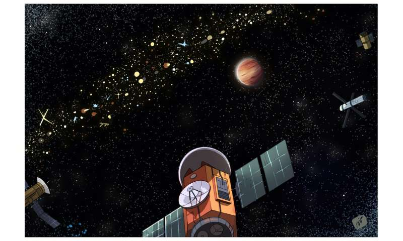 The Clarke exobelt, a method to search for possible extraterrestrial civilizations
