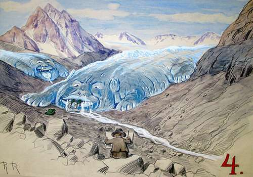 The culture and history of glaciers in the Alps