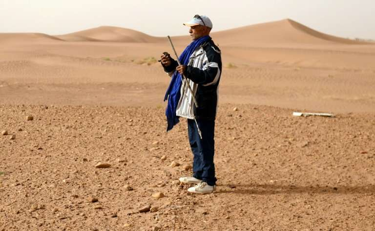 The desert landscapes of Erfoud, Tata and Zagora in southern Morocco are rich hunting grounds for meteorites, as the wind uncove