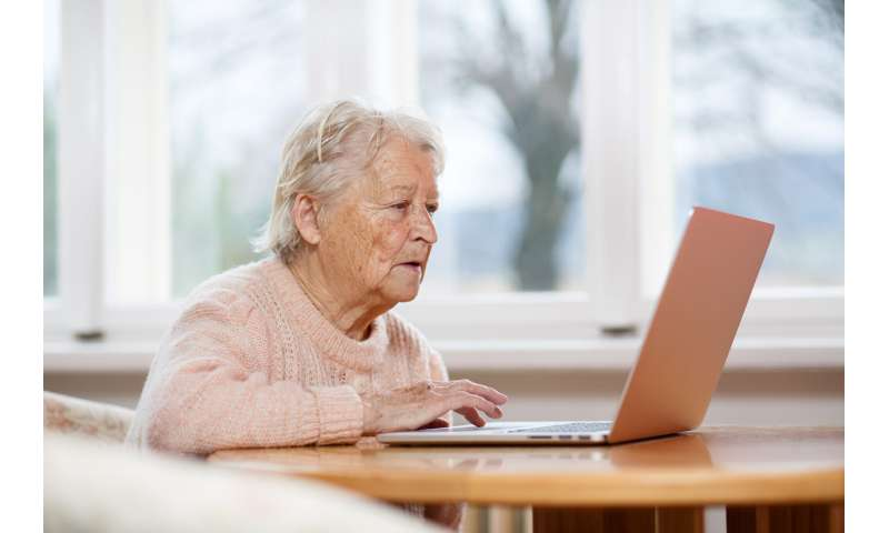 The digital divide—small, social programs can help get seniors online