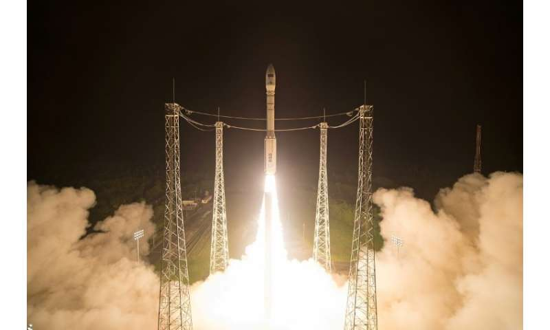 The European Space Agency has successfully launched a series of satellites as part of its ambitious Copernicus project tracking